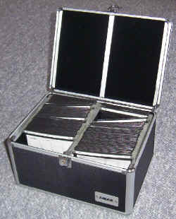 Laser 240 CD storage case silver