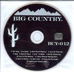 BCY012 BIG COUNTRY CDG