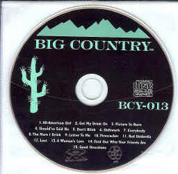 BCY013 BIG COUNTRY CDG