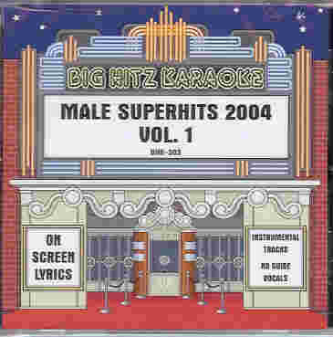 BHK303 BIG HITZ CDG Male Super Hits 2004 - Vol. 1
