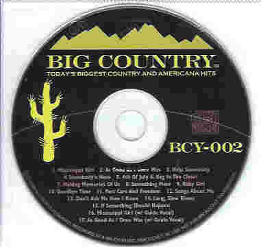 BCY002 BIG COUNTRY CDG
