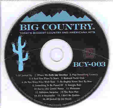 BCY003 BIG COUNTRY CDG