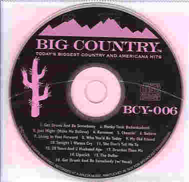 BCY006 BIG COUNTRY CDG