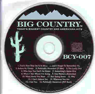 BCY007 BIG COUNTRY CDG