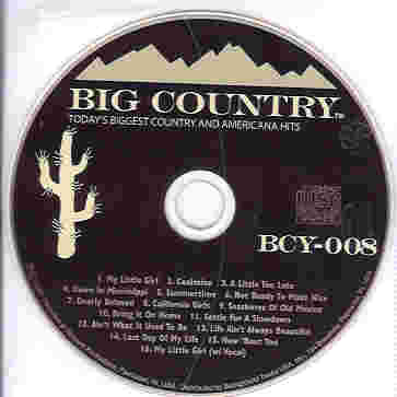 BCY008 BIG COUNTRY CDG