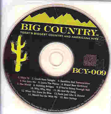 BCY009 BIG COUNTRY CDG