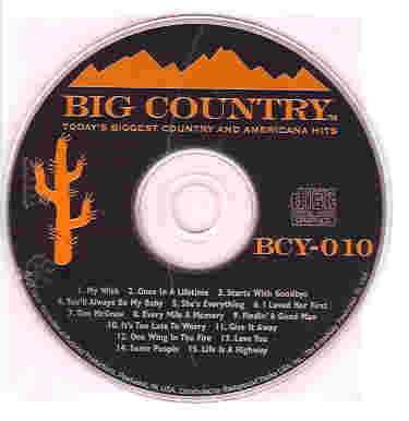 BCY010 BIG COUNTRY CDG