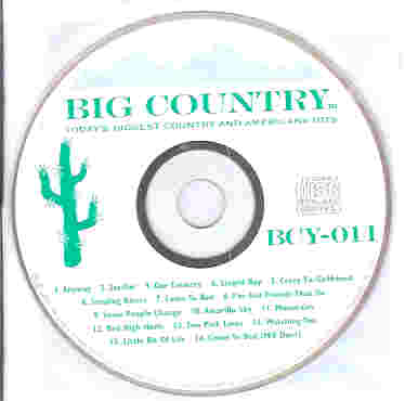 BCY011 BIG COUNTRY CDG