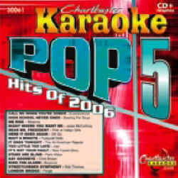 CDG30061 CHARTBUSTER CDG POP 5 HITS OF 2006