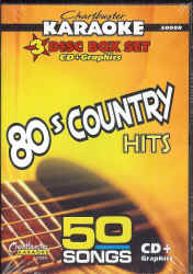 CDG5008 CHARTBUSTER CDG PACK 80's COUNTRY HITS