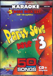 CDG5012 CHARTBUSTER CDG PACK PARTY SONG HITS VOL.3