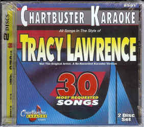 CDG8591 CHARTBUSTER CDG PACK TRACY LAWRENCE
