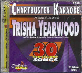 CDG8592 CHARTBUSTER CDG PACK TRISHA YEARWOOD