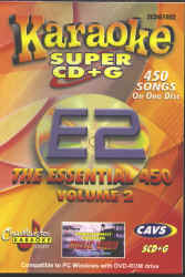 SCDG1002 CHARTBUSTER ESSENTIAL 450 #2 SUPER CD+G