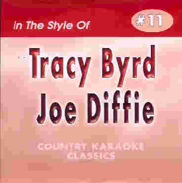 CKC11 COUNTRY KARAOKE CLASSICS CDG Tracy Byrd & Joe Diffie
