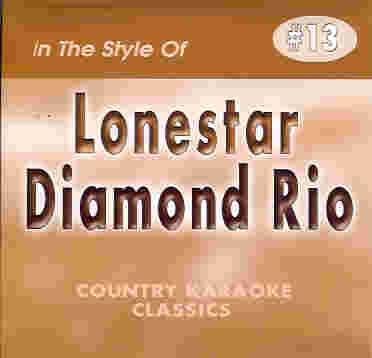CKC13 COUNTRY KARAOKE CLASSICS CDG Lonestar & Diamond Rio