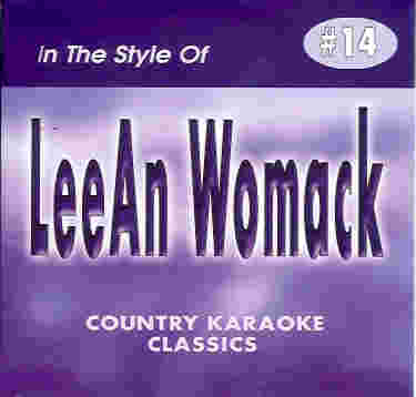 CKC14 COUNTRY KARAOKE CLASSICS CDG Lee Ann Womack
