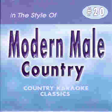 CKC20 COUNTRY KARAOKE CLASSICS CDG Male Country Hits