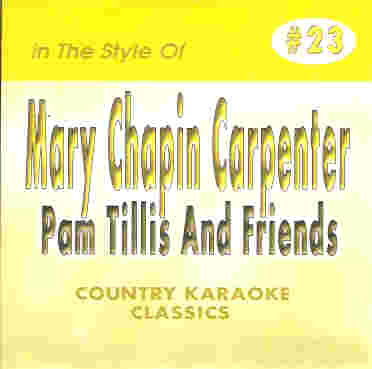 CKC23 COUNTRY KARAOKE CDG Mary Chapin Carpenter & Friends