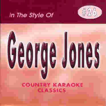 CKC26 COUNTRY KARAOKE CLASSICS CDG George Jones