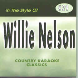 CKC29 COUNTRY KARAOKE CLASSICS CDG Willie Nelson