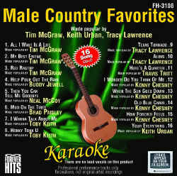 FOREVER HITS CDG - Male Country Favorites - FH3108