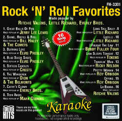 FOREVER HITS CDG - Rock 'N' Roll Favorites - FH3301
