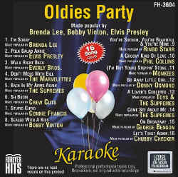 FOREVER HITS CDG - Oldies Party - FH3604