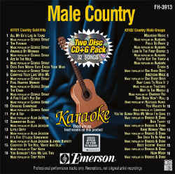 FOREVER HITS - Male Country (2 Discs) - FH3913