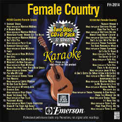 FOREVER HITS - Female Country (2 Discs) - FH3914