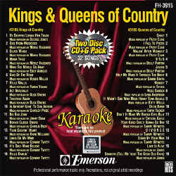 FOREVER HITS - Kings & Queens of Country (2 Discs) - FH3915