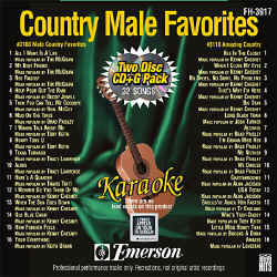 FOREVER HITS - Country Male Favorites (2 Discs) - FH3917