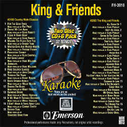 FOREVER HITS - King & Friends (2 Discs) - FH3918