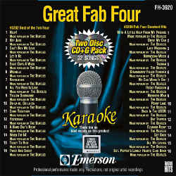 FOREVER HITS - Great Fab Four (2 Discs) - FH3920