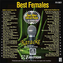 FOREVER HITS - Best Females (2 Discs) - FH3921