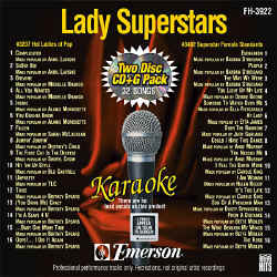 FOREVER HITS - Lady Superstars (2 Discs) - FH3922