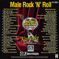 FOREVER HITS - Male Rock N Roll (2 Discs) - FH3924