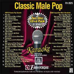 FOREVER HITS - Classic Male Pop (2 Discs) - FH3925