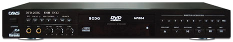 CAVS Karaoke player DVD-203G USB