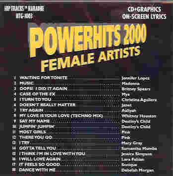 HTG1003 HIP TRACKS Powerhits 2000 - Female Artists