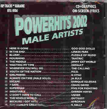 HTG1006 HIP TRACKS Powerhits 2002 - Male Artists