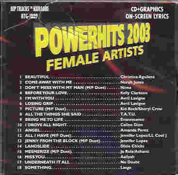 HTG1009 HIP TRACKS Powerhits2003 - Female Artists