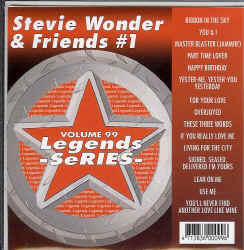 LEG099  LEGENDS CDG STEVIE WONDER & FRIENDS VOL.1