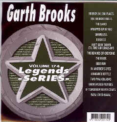 LEG174 LEGENDS CDG GARTH BROOKS