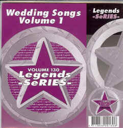 LEG130 LEGENDS CDG WEDDING SONGS VOL.1