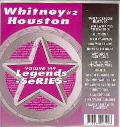 LEG149  LEGENDS CDG WHITNEY HOUSTON VOL.2