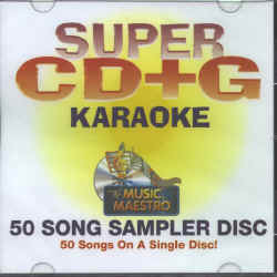 MM50 MUSIC MAESTRO 50 SONG SAMPLER SUPER CD+G