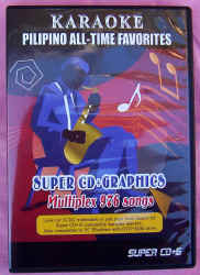 PILIPINO ALL TIME FAVOURITES SUPER CD+G (filipino)