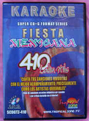SCDGTZ410 TROPICAL ZONE FIESTA MEXICANA SUPER CD+G (spanish)