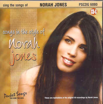 POCKET SONGS - NORAH JONES CDG - PSCDG6080